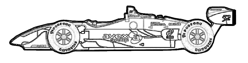 nagano f1 race car coloring page  race car coloring pages