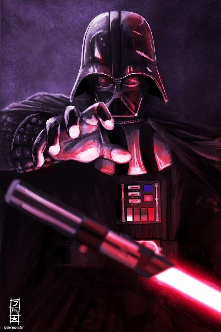 Darth Vader By Jonnymonstar Deviantart Com On Deviantart Star Wars Poster Star Wars Images Star Wars Sith