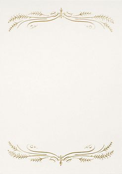 Gold Foil Filigree A7 Printable Invitations Invitation Frames Printable Invitations Elegant Invitations