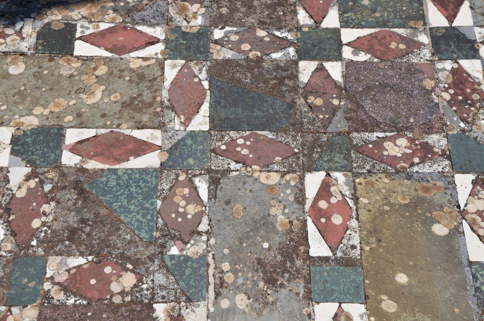 Opus Sectile Pattern from Hadrian's villa at Tivoli.