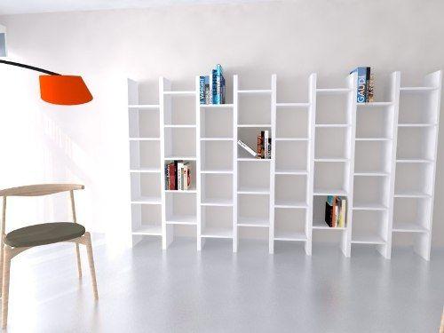 Biblioteca Mueble Modular Decoracion Minimalista Moderno