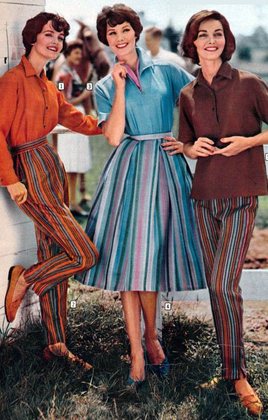 Women's Fashion From A 1959 Catalog. #1950s #vintage