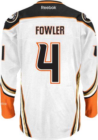 da39224ea9d Anaheim Ducks Cam FOWLER #4 Official Away Reebok Premier Replica NHL Hockey  Jersey (HAND SEWN CUSTOMIZATION)