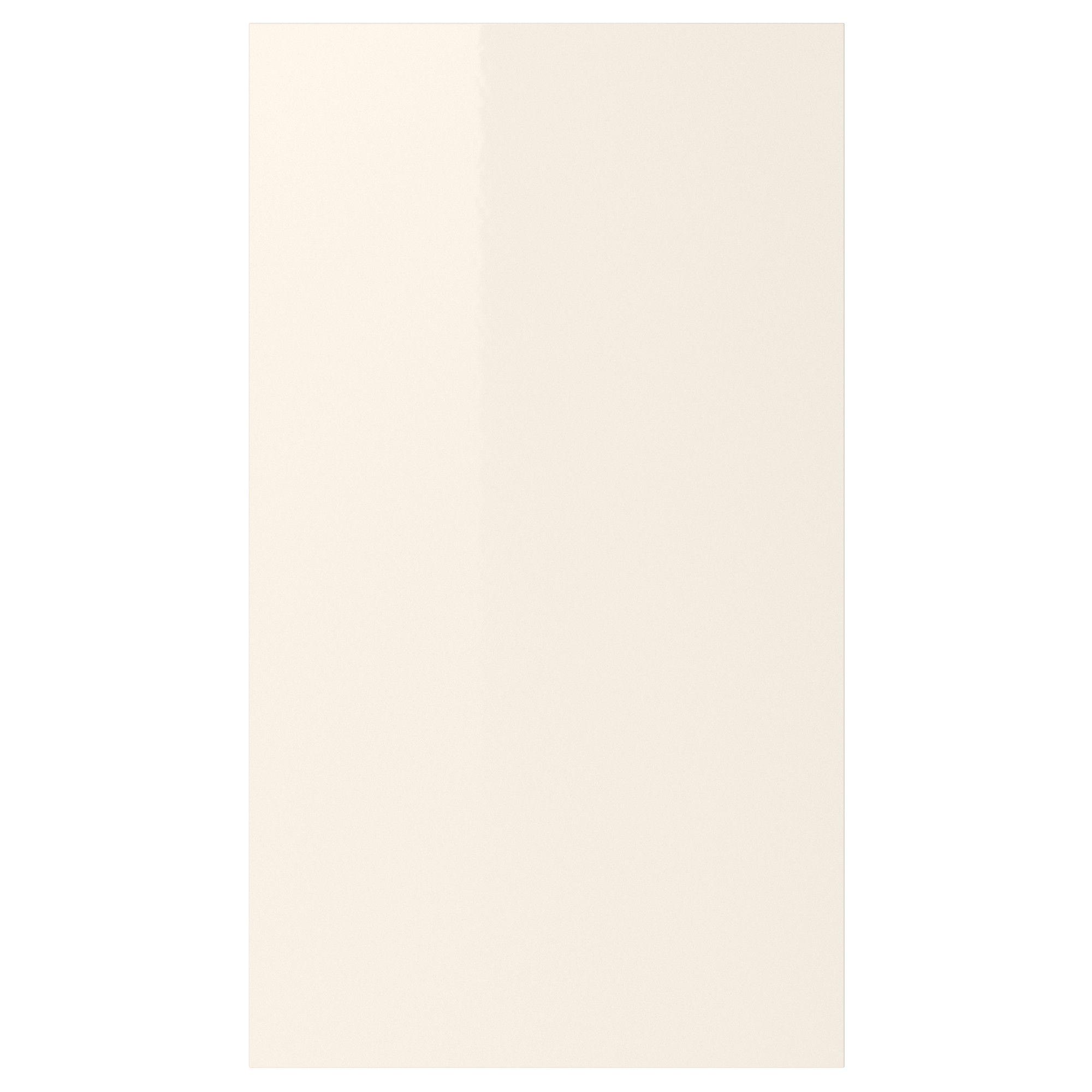 kitchen cabinet doors abstrakt door for corner wall cabinet high gloss cream 17x30 ikea. Black Bedroom Furniture Sets. Home Design Ideas