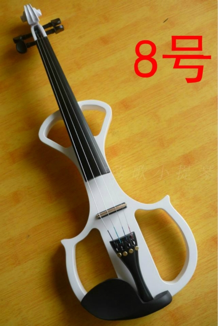 109.25$  Watch here - http://alizu6.worldwells.pw/go.php?t=32378217273 - N8 High quality white color electric violin 4/4 violin handcraft violino Musical Instruments violin Brazil Wood bow 109.25$