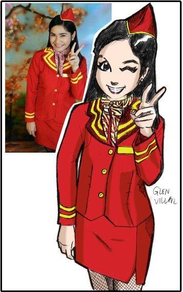 Request: Color anime style portrait. - Jem