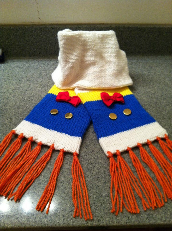Donald Duck Scarf from Ms Jackie\'s Creations | Crochet Love ...