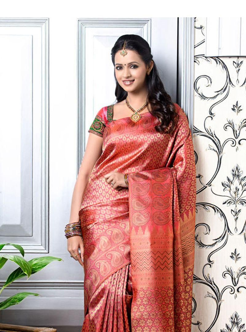 The latest trend in the indian fashion industry seems to be designer actress bhavana in silk saree at photo collection thecheapjerseys Image collections