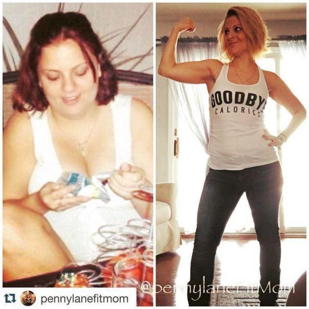 Großartige Transformation! Lesen Sie vor und nach der Fitness Transformation Erfolgsgeschic ...   -...