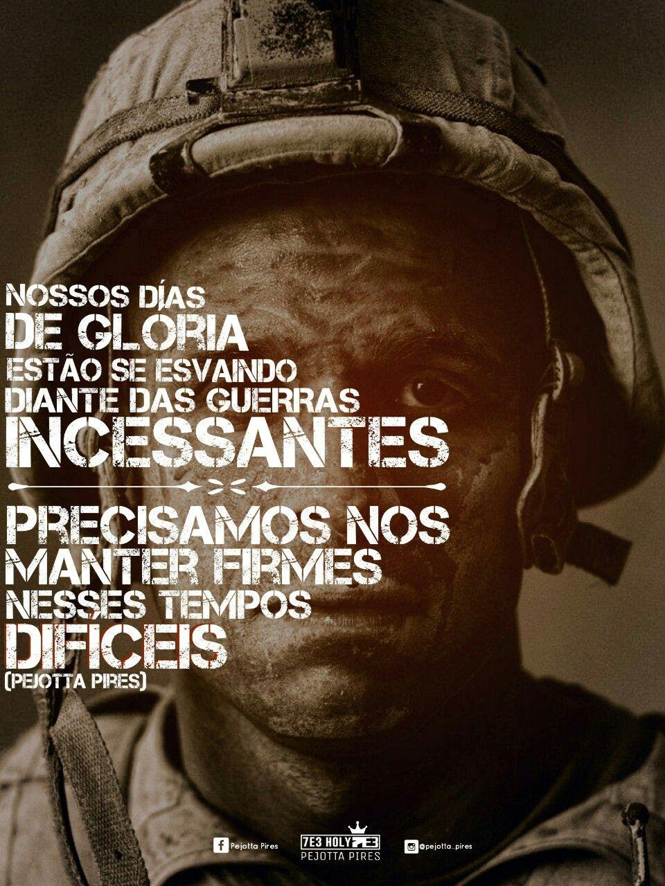 Nossos Dias De Glória Estão Se Esvaindo Diante Das Guerras