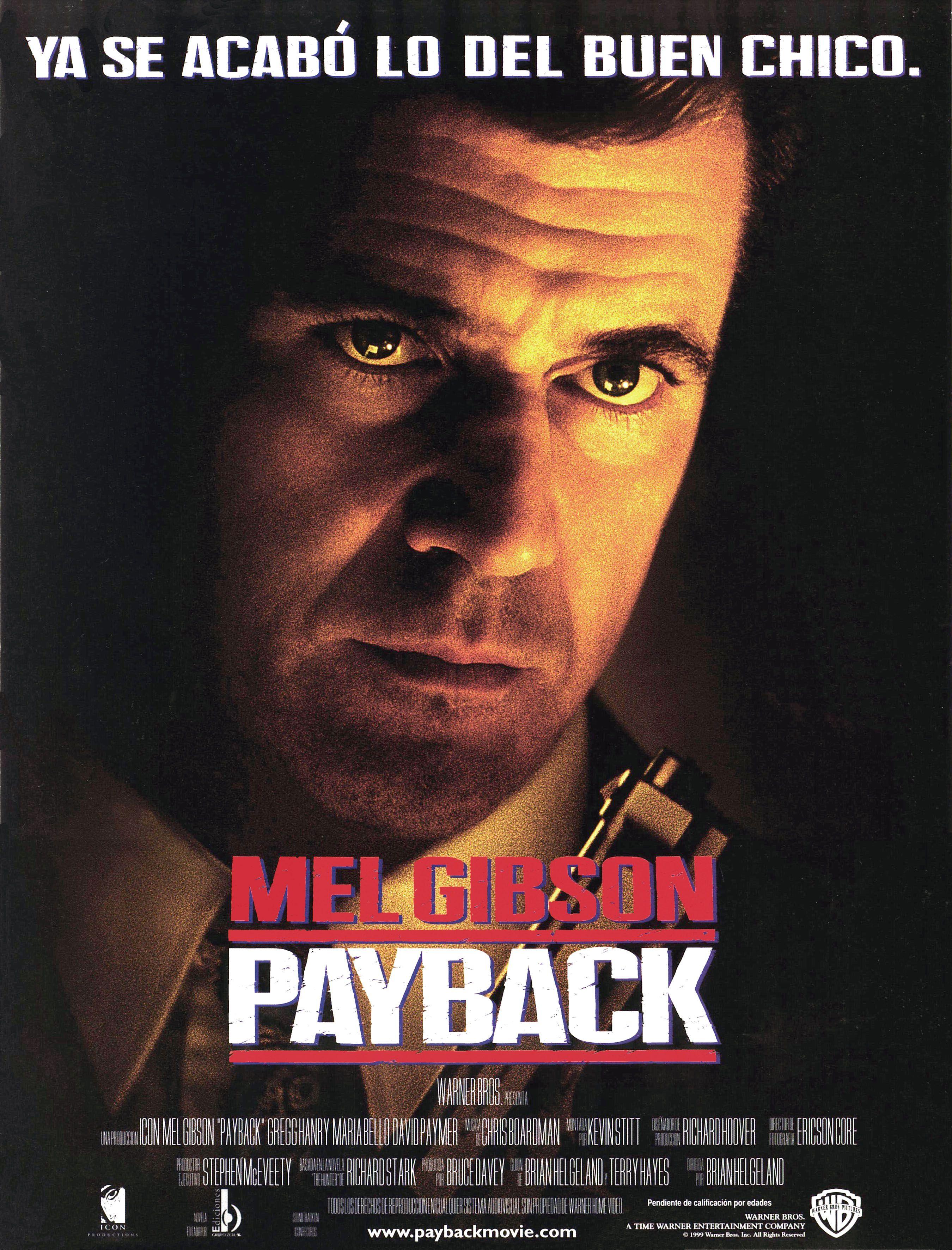 Payback Peliculas De Accion Mel Gibson Peliculas