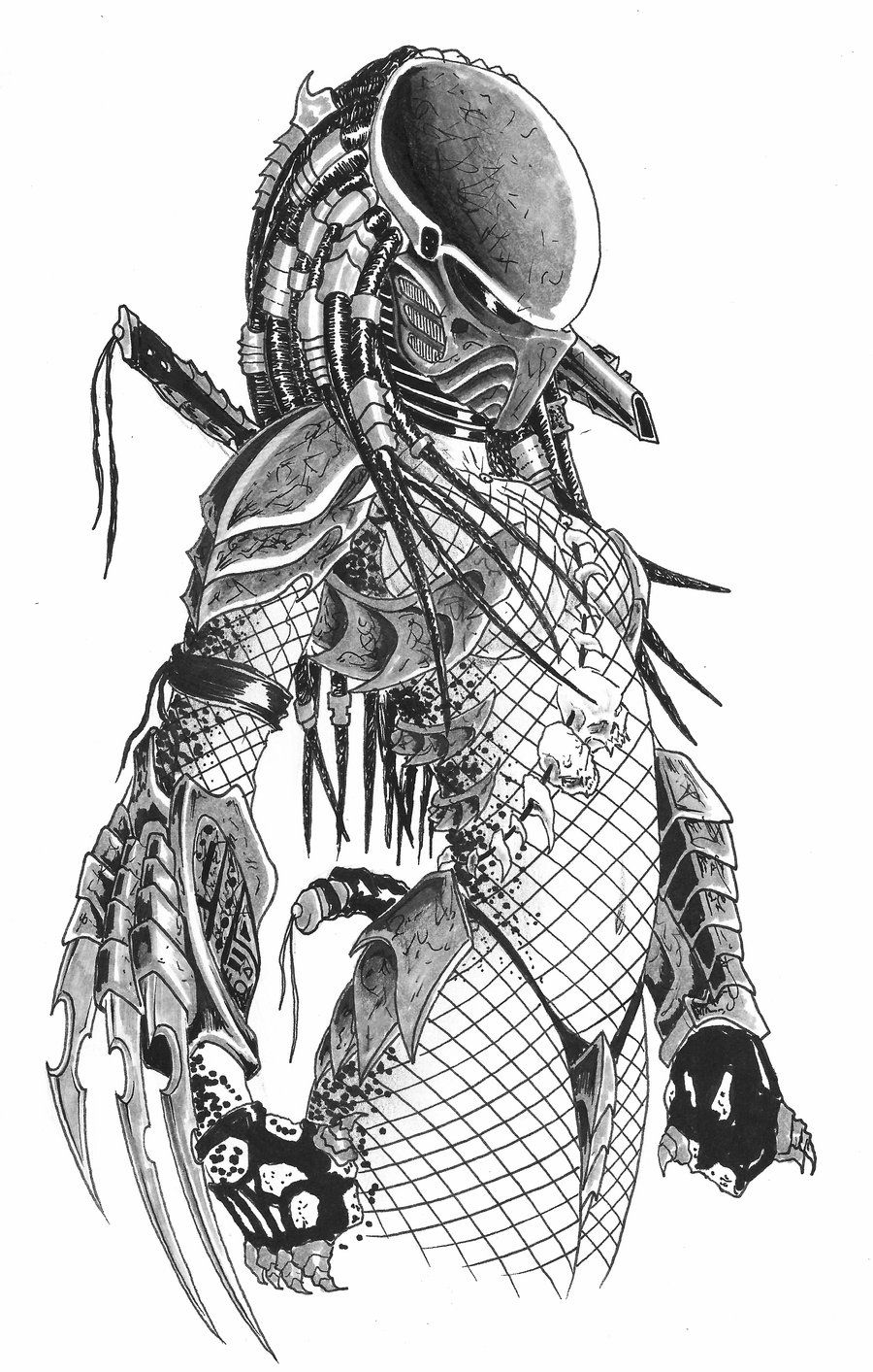 Predator Female!!! This is amazing!!!!! What an awesome costume ...