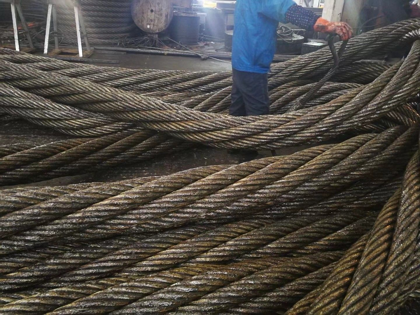 So Big Diameter Wire Rope In 2020 Rope Wire Rope Sling Rope Wire