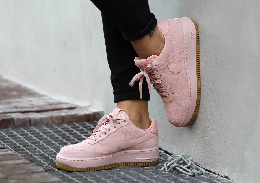 air force 1 femme rose pale