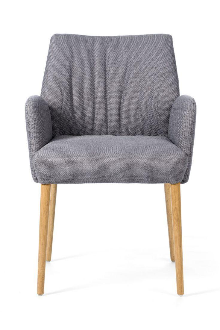 410a7798e708cb Salle À Manger Et Cuisine · Couettes · Belgique · Chaise ENORA à piétement  bois par Mobitec. Confortable et très féminine.