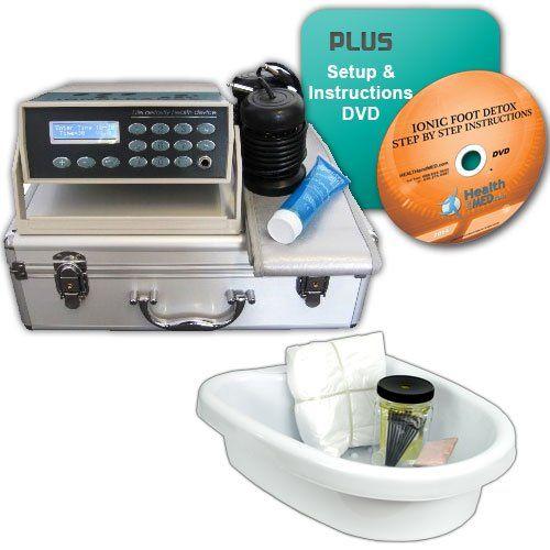 How To Make A Detox Foot Bath Detoxing Foot Bath To Draw Detox Dvd Medes