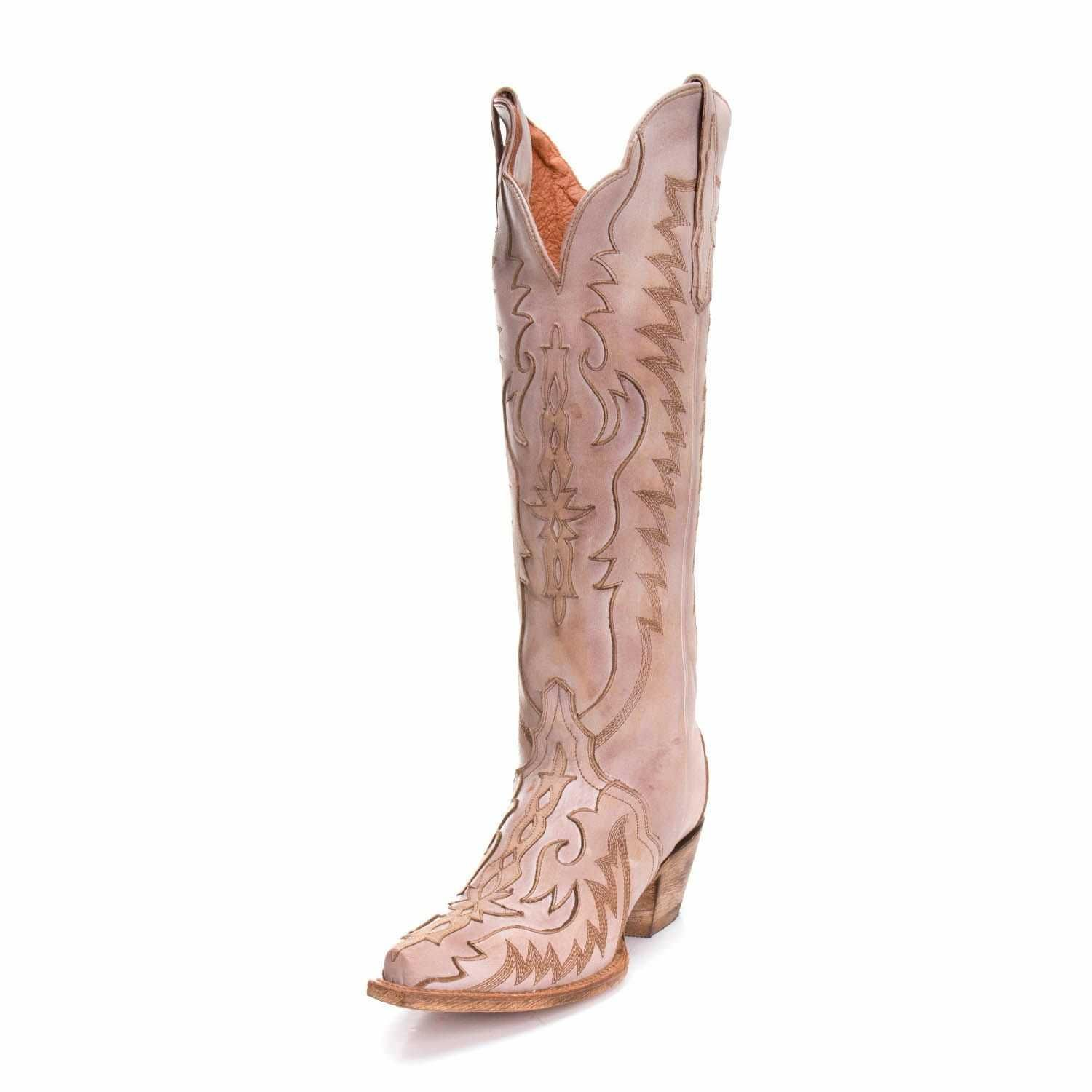 c62fe8d761d Dan Post Womens Hallie Flame Inlay Tall Boots DP4026 in 2019