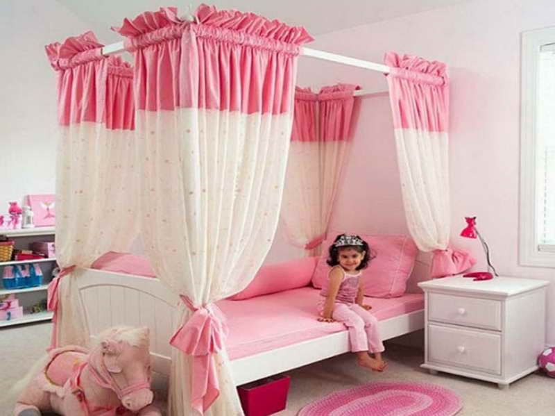 Simple Bedroom Painting Ideas With The Girl Pink Bedroom Design