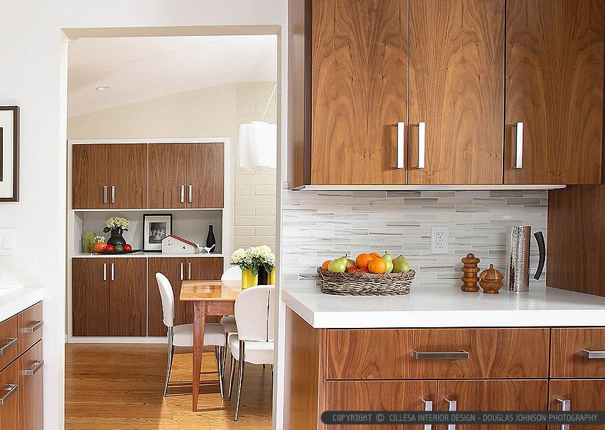 White Modern Subway Marble Mosaic Contemporary Design Style White Modern Kitchen Modern Kitchen Backsplash Brown Kitchen Cabinets