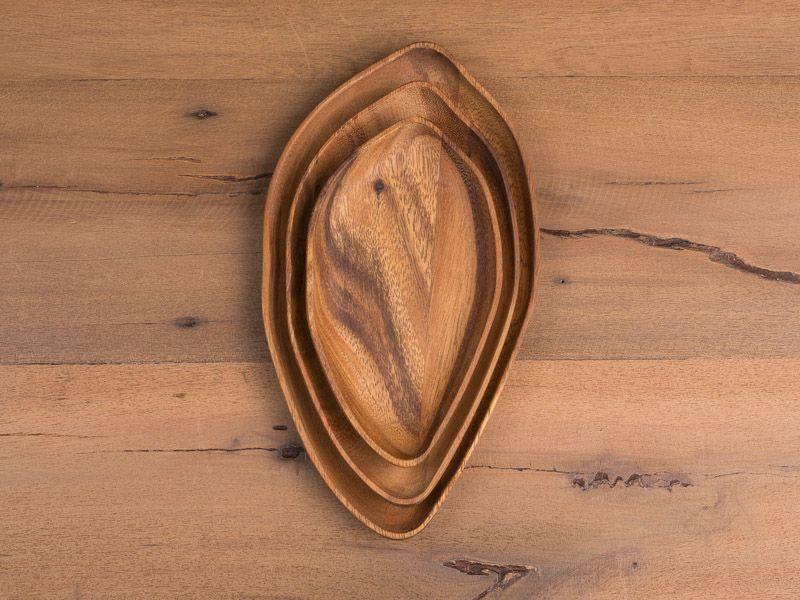"Mango wood platters... Eco friendly ""chic"""