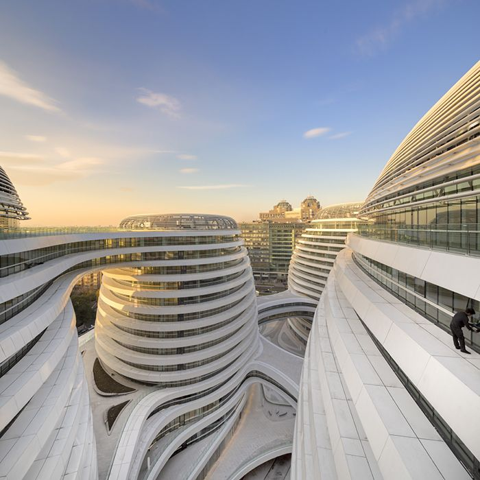 Architecture Galaxy Soho By Zaha Hadid Architects