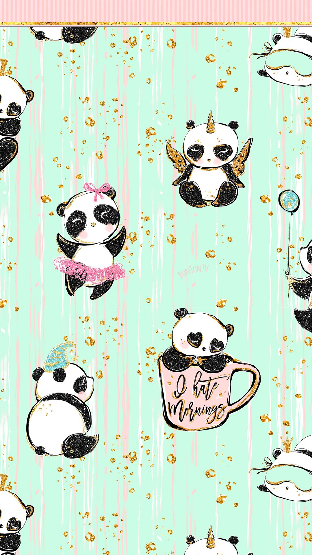 Pin By Jazzy Chiz On Wallpapers Panda Wallpapers Cute Wallpaper For Phone Cute Wallpapers