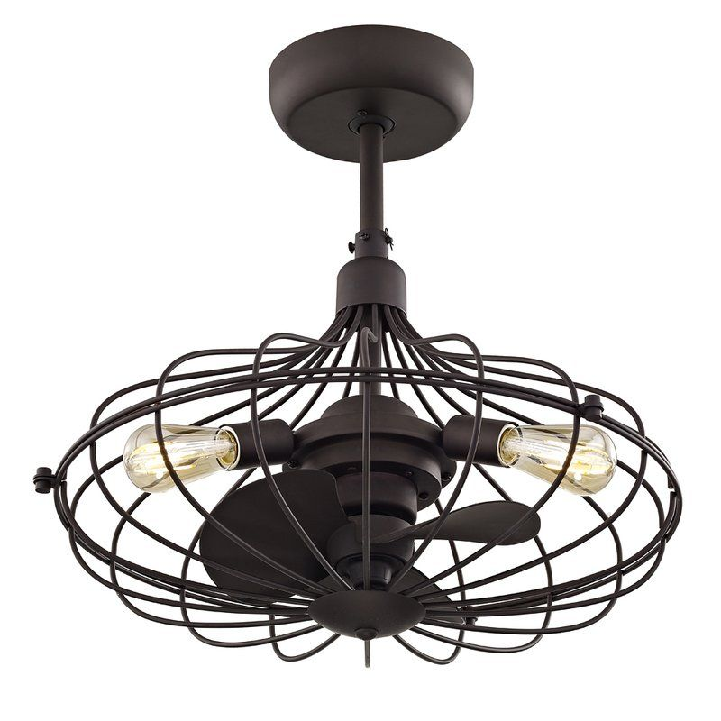 Gruver 3 Blades Ceiling Fan With Remote In 2019 Bronze