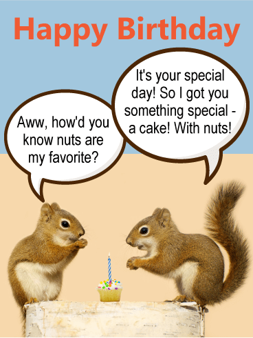 Adorable Squirrel Birthday Card Birthday Greeting Cards By Davia Birthday Wishes And Images Birthday Greeting Cards Birthday Cards
