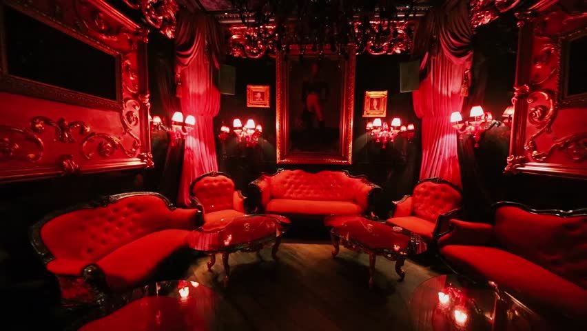 Pin By Roxanne Kitty On Home Room Design Red Lights Bedroom Vampire House Gothic House