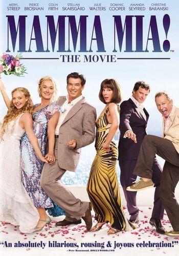 Best Buy Mamma Mia The Movie Dvd 2008 Peliculas Divertidas Cine Musical Disfraz Musica