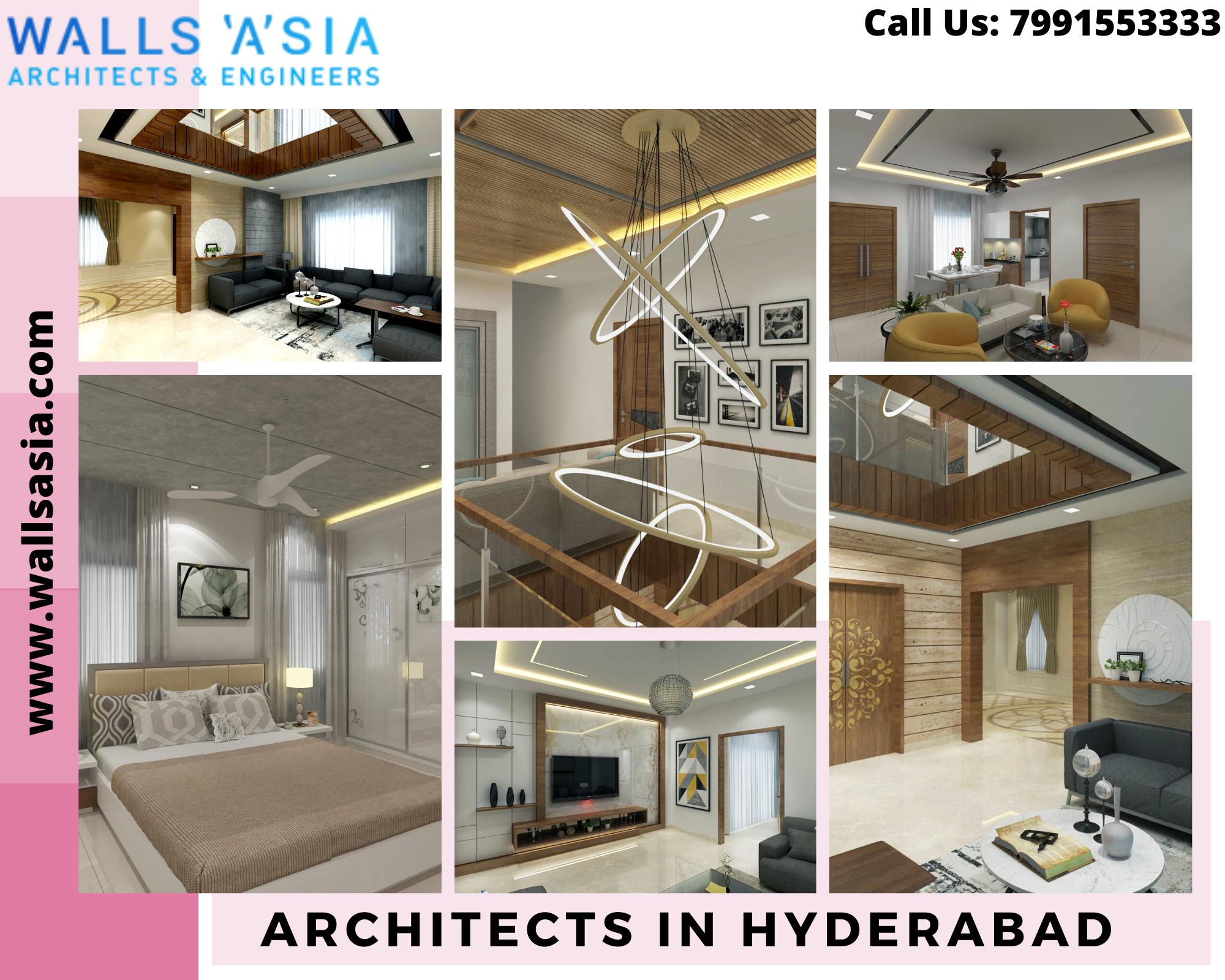 Architects In Hyderabad | Walls Asia in 2020 | Interior ...