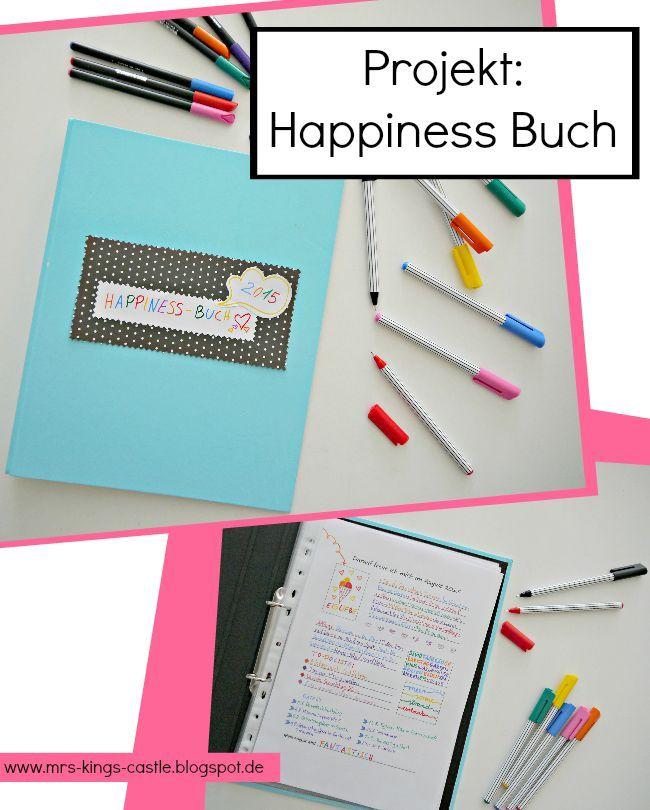 Projekt Happiness Buch mit gratis Vorlage und Anleitung / Das Leben ...