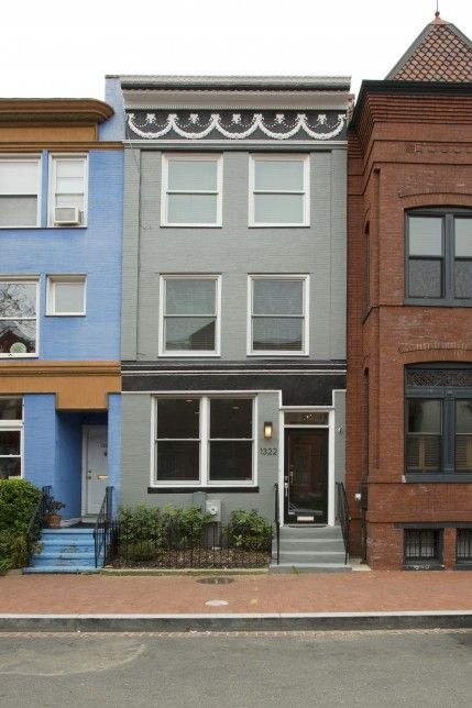Washington Dc Row House Design Renovation And Remodeling Contractors Four Brothers Llc Row House Row House Design Building Design