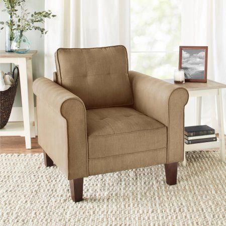 10 Spring Street Ashton Lounge Chair Multiple Colors Walmart Com Chair Living Room Chairs Home Decor