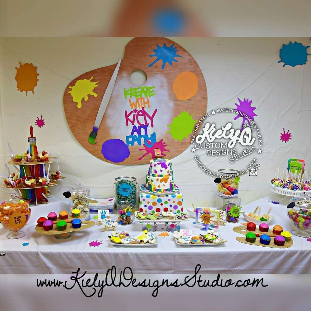 Arts & Crafts Birthday Party Ideas