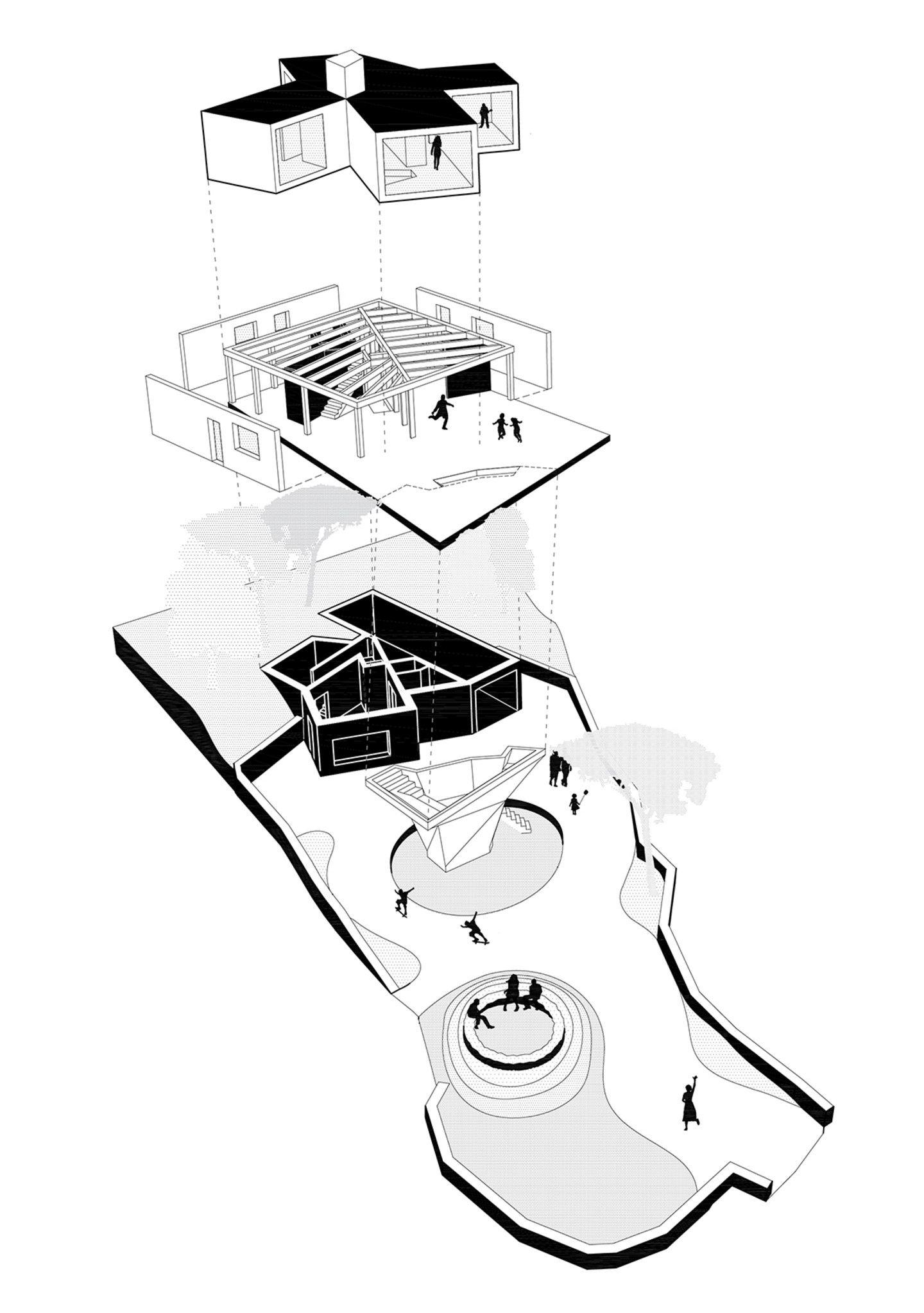 turato architecture gumno house divisare diagramas e Homes during the Renaissance turato architecture gumno house divisare