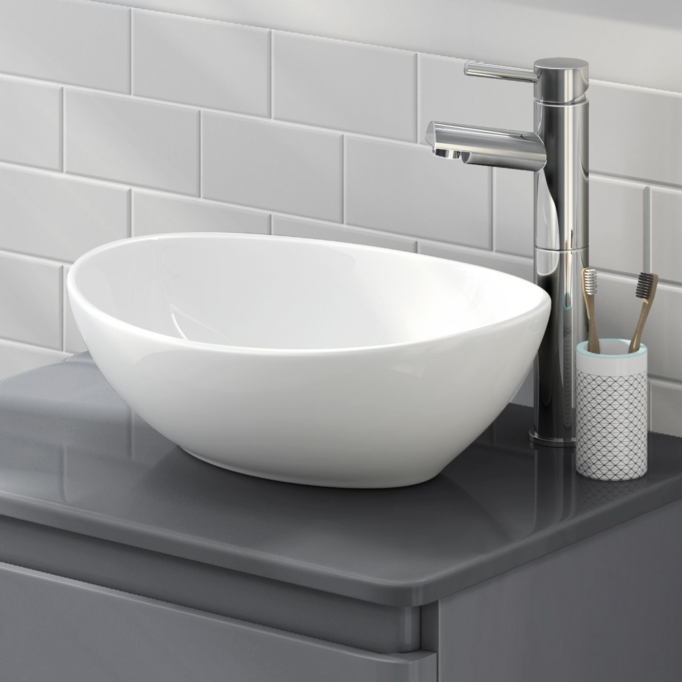 Camila Counter Top Basin   Basin, Counter top and Bathroom basin