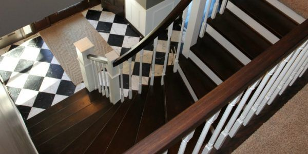 Best Curved Staircase Remodel With New Handrail Staircase 400 x 300