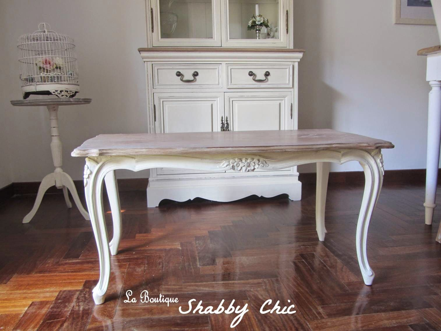Tavolino Shabby Chic | La Boutique Shabby Chic | Restore furniture ...