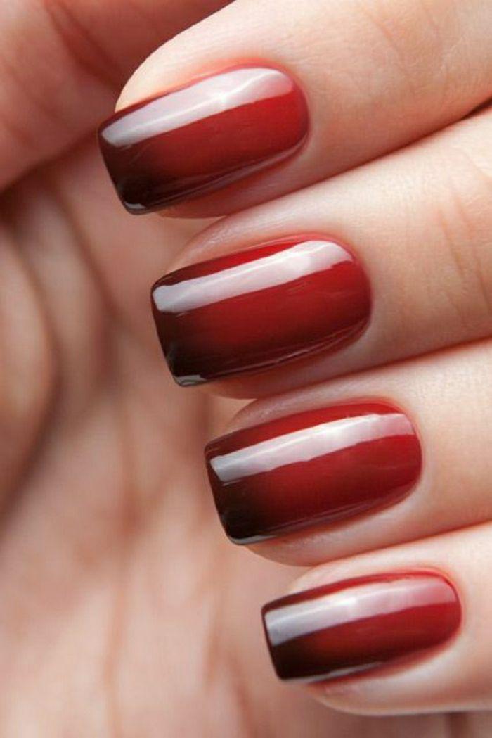 rot braun wechselnde farbe nagellack thermo nails pinterest n gel nagellack und n gel. Black Bedroom Furniture Sets. Home Design Ideas