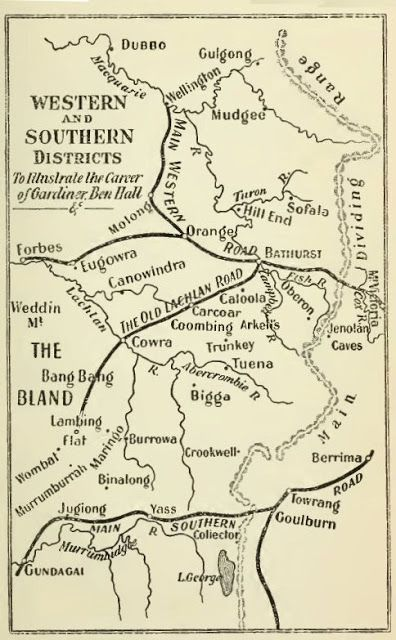 Western and Southern Districts of New South Wales - The Bushrangers - Part Twenty-Three - The Notorious Piesley - An Old Cockatoo Hand Out with Gardiner