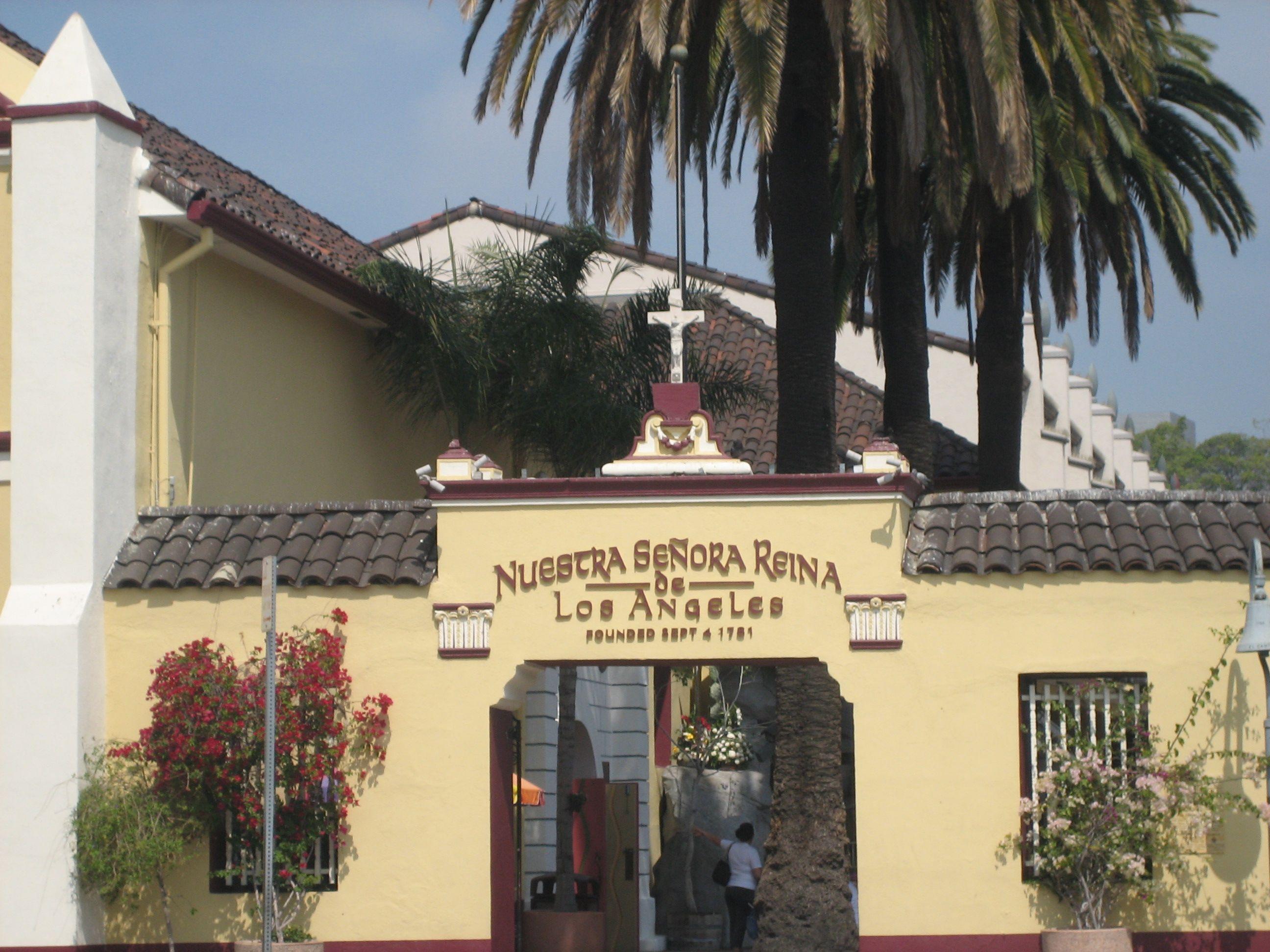 Nuestra Señora Reina de los Angeles - Founded 1784