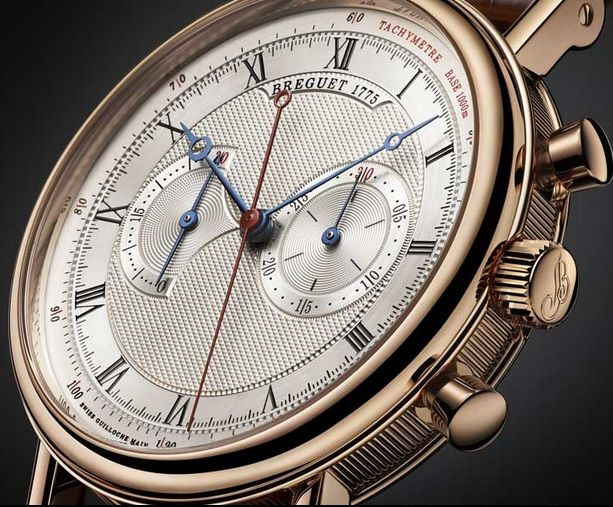 Breguet Classique Chronograph 5827BR : A new, two-register central chronograph from Breguet, with manual wind caliber. #Basel2013