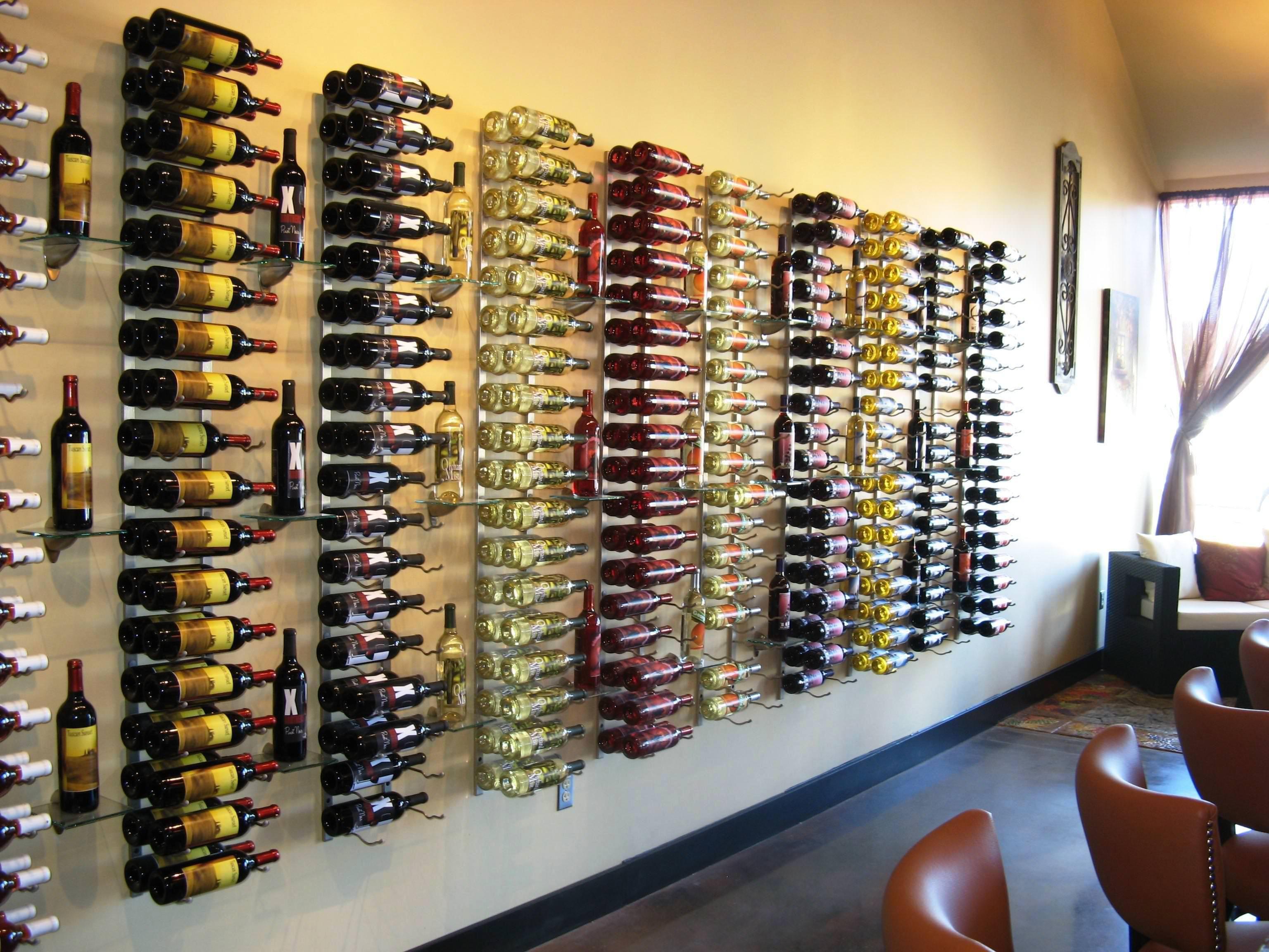 Unique Wall Hanging Wine Rack Designs Ideas | wine | Pinterest ...