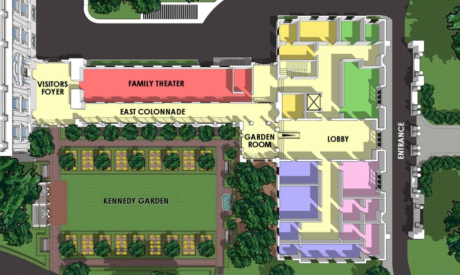 White House Floor Plan East Wing House Floor Plans White House Plans White House Tour
