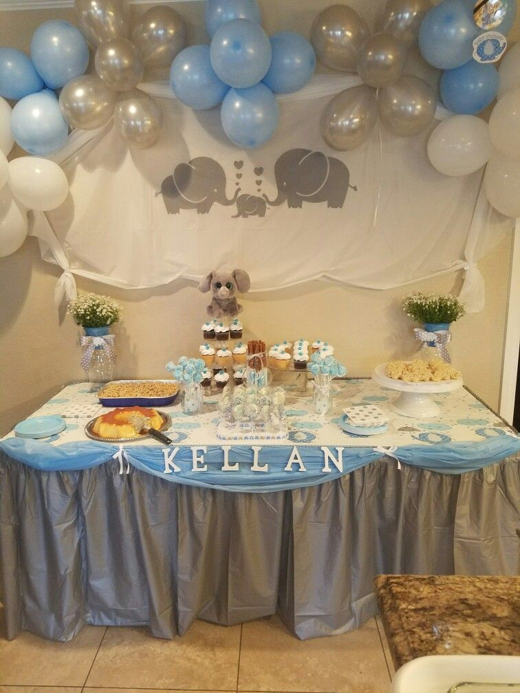 Alexis's Baby Shower . Elephant Themed On Cinco De Mayo