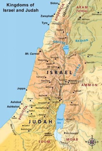 Bible Times Large Map Of Ephraim Google Search Prophecy JESUS - Map of egypt old testament