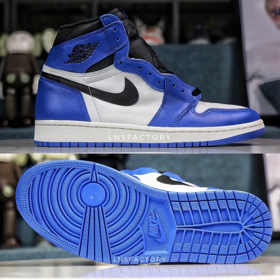 Air Jordan 1 Retro High Og Game Royal February 2018 Release Date
