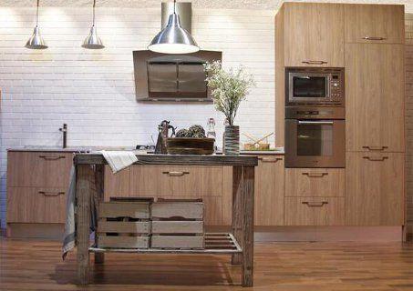 Fotos de modelos de cocinas r sticas americanas y modernas e ideas sencillas para su decoraci n - Cocinas camperas rusticas ...