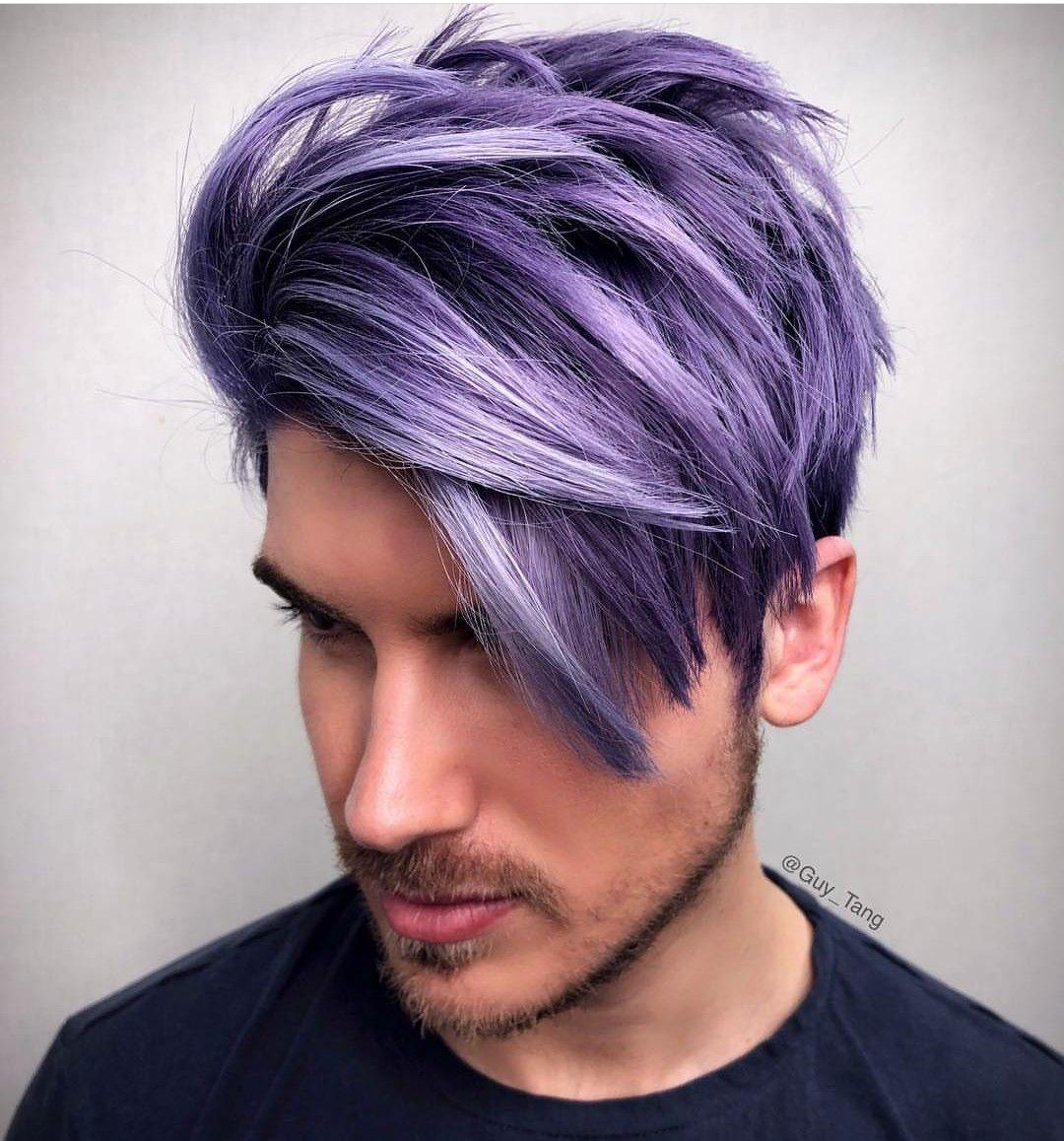 Pin By Christina Watt On Guy Tang Hair God Creations Men Hair Color Dyed Hair Men Hair And Beard Styles